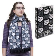 Soft Knit Cat Scarf