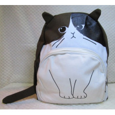 Purrfect Cat Backpack - Brown/Black Tortie