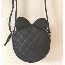 Quilted Cross Body Bag with Cat Ears