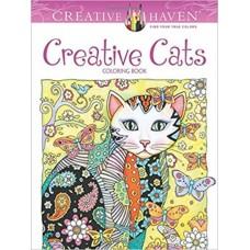 Creative Haven Creative Cats Coloring Book