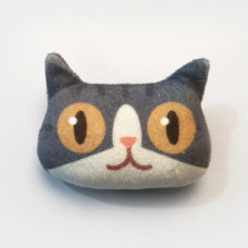 Cool Cats Plush Cat Brooch #2