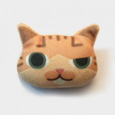 Cool Cats Plush Cat Brooch #8