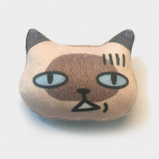 Cool Cats Plush Cat Brooch #10