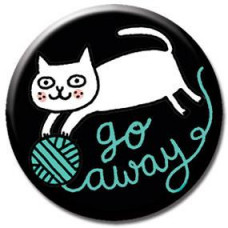 Button - 'Go Away'