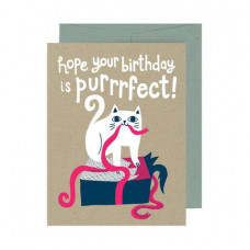Card - Hope You're Birthday is Purrrfect!