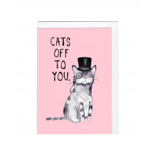 Card - Cats Off To You