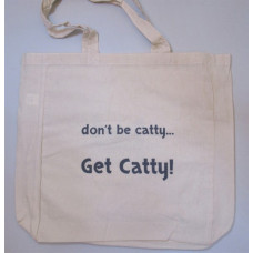 Get Catty! Calico Shopping Tote