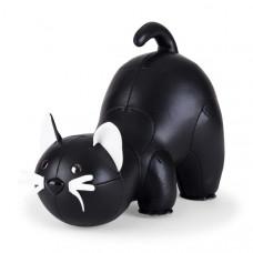 Bookend Classic Cat - Black