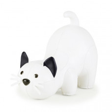 Bookend Classic Cat - White