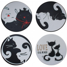 Black & White Coaster Set