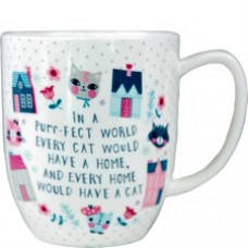A Purr-fect World Mug