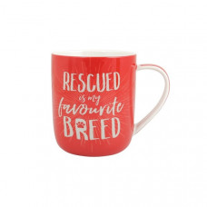 Rescued Is My Favourite Breed Mug