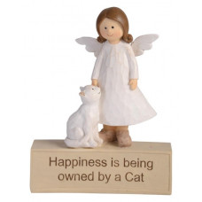 Adoring Angel - Happiness is being owned by a Cat