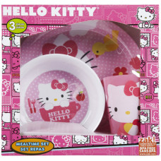 Hello Kitty Mealtime Set