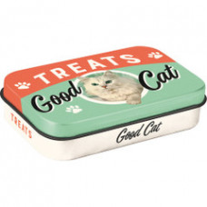 Pet Treat Tin - Good Cat