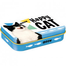 Pet Treat Tin - Happy Cat
