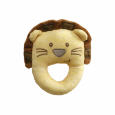 Playful Pals Lion Rattle