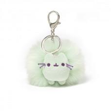 Pusheen Pastel Pom Keychain - Mint