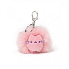 Pusheen Pastel Pom Keychain - Pink