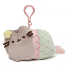 Pusheen Backpack Clip - Mermaid