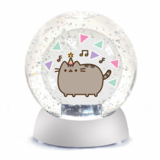 Pusheen Birthday Waterdazzler Globe