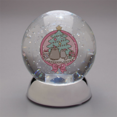 Pusheen Christmas Waterdazzler Globe