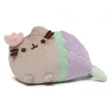 Pusheen Mermaid Clam Shell Plush