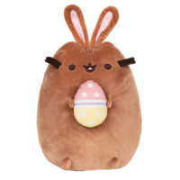 PUSHEEN EASTER CHOCOLATE BUNNY WITH EGG PLUSH
