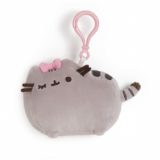 Pusheen Backpack Clip - Bow