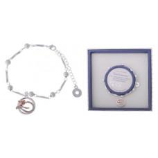 Equilibrium Crystal Diamond Cat Bracelet