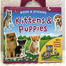 Kittens & Puppies Sticker Book