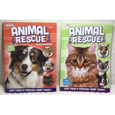 Kids Animal Rescue Activity Book