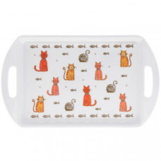 Faithful Friends Cat Serving Tray - Small