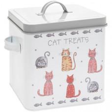 Faithful Friends Cat Treat Box