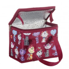 Hungry Kitty Insulated Cooler Lunch Bag