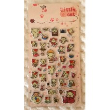 Japanese Cartoon Cat Stickers