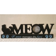 Meow Table Top Photo Frame