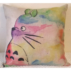 Watercolour Cat Cushion