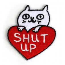 Shut Up Cat Patch