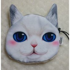 Cat Face Purse 13cm