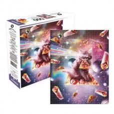 Random Galaxy - Cat Pizza 500pc Puzzle