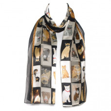 Many Breeds of Cat Scarf