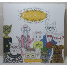Cat Park Coloring Book