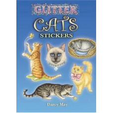 Glitter Cats Stickers