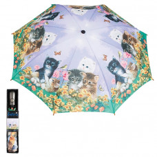 Galleria Kittens Automatic Folding Umbrella
