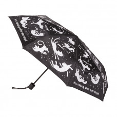 Raining Cats & Dogs Fold Up Umbrella
