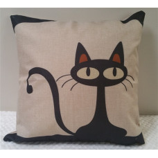 Retro Cat Cushion