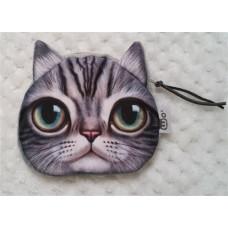 Cat Face Purse 10.5cm