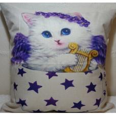 Angel Cat Cushion