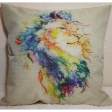 Happy Lion Cushion